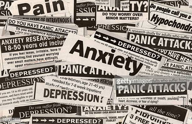 anxiety? - single word stock pictures, royalty-free photos & images
