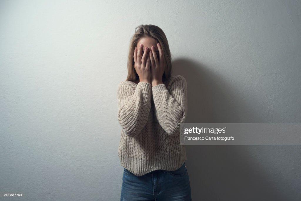 Anxiety : Stock Photo