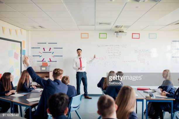 any questions - classroom stock photos and pictures