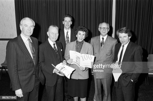 Any Questions team including Menzies Campbell Enoch Powell Edwina Curry Gerald Kaufman and Jonathan Dimbleby Slaithwaite 13th December 1991