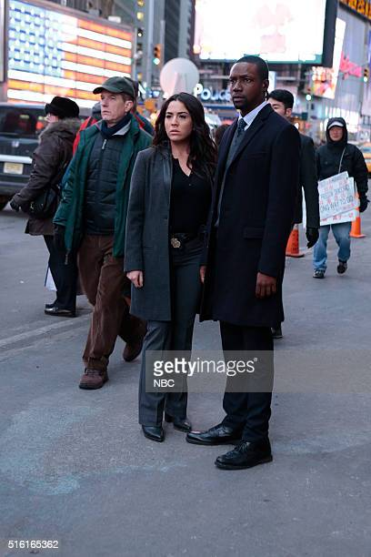 BLINDSPOT Any Wounded Thief Episode 116 Pictured Audrey Esparza as Tasha Zapata Rob Brown as Edgar Reed