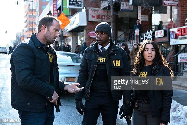 BLINDSPOT Any Wounded Thief Episode 116 Pictured Sullivan Stapleton as Kurt Weller Rob Brown as Edgar Reed Audrey Esparza as Tasha Zapata