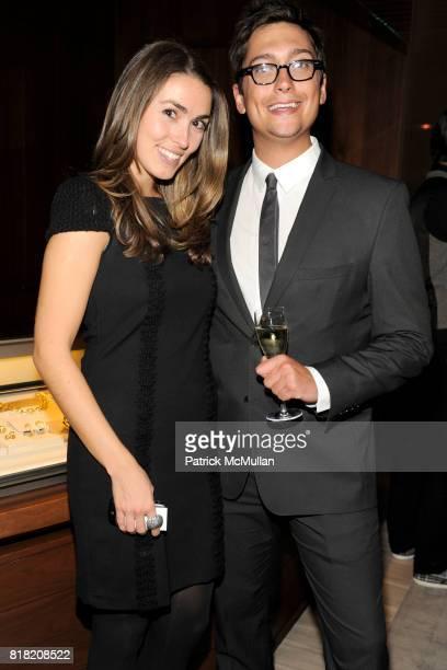 Anya Assante and Elliot Tomavno attend DAVID YURMAN Hosts A Men's Evening with dot429 at David Yurman's Townhouse on November 3rd 2010 in New York...