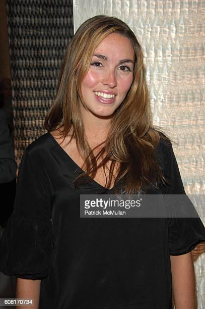 Anya Assante attends JIM THOMPSON and ARCHITECTURAL DIGEST hosts the launch of the METRO CLOTH Collection by CAMPION PLATT at Midtown Showroom NYC on...