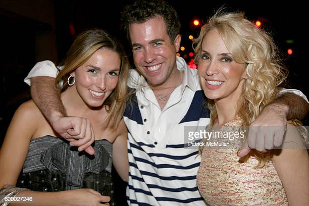 Anya Assante Kristian Laliberte and Tracy Stern attend UNRULY HEIR Private Launch Party at Bella's on May 9 2007 in New York City