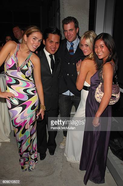 Anya Assante PJ Pascual Kristian Laliberte Caitlin Kelly and Stephanie Wei attend NAOMI CAMPBELL helps OPERATION SMILE celebrate 25 years of smiles...