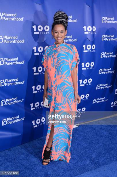 Anya Ayoung Chee attends the Planned Parenthood 100th Anniversary Gala at Pier 36 on May 2 2017 in New York City