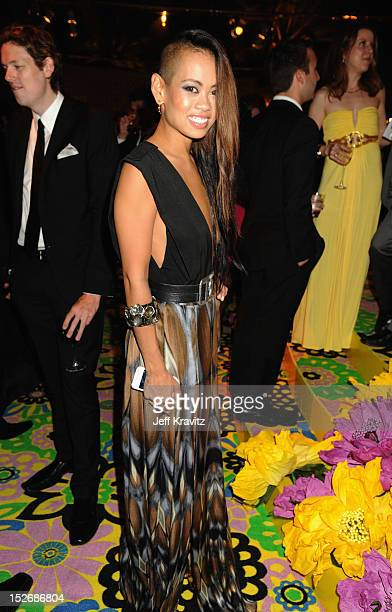 Anya AyoungChee attends HBO's Official Emmy After Party at The Plaza at the Pacific Design Center on September 23 2012 in Los Angeles California