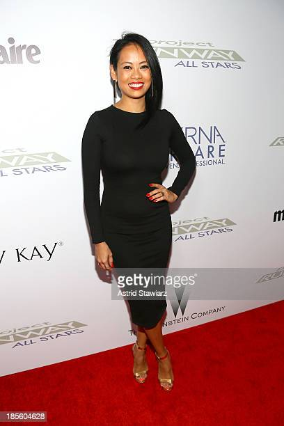 Anya AyoungChee attends the Project Runway All Stars Season 3 premiere party presented by The Weinstein Company and Lifetime in partnership with...