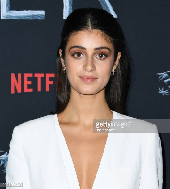 Anya Chalotra attends the photocall for Netflix's The Witcher Season 1 at the Egyptian Theatre on December 03 2019 in Hollywood California