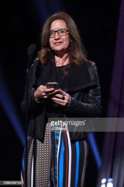 Anya Grundmann speaks onstage during the 2019 iHeartRadio Podcast Awards Presented By Capital One at iHeartRadio Theater on January 18 2019 in...