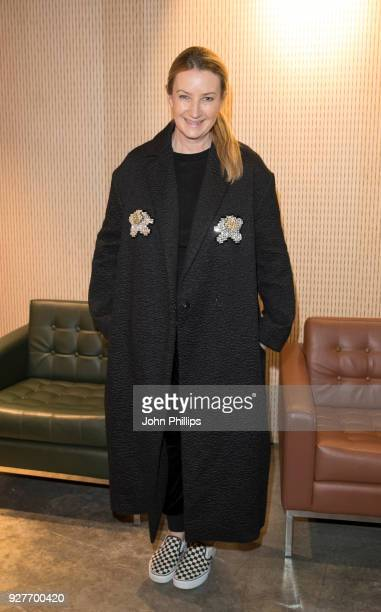 Anya Hindmarch during the Camberwell College of Arts opening party at Camberwell College of Arts on March 5 2018 in London England