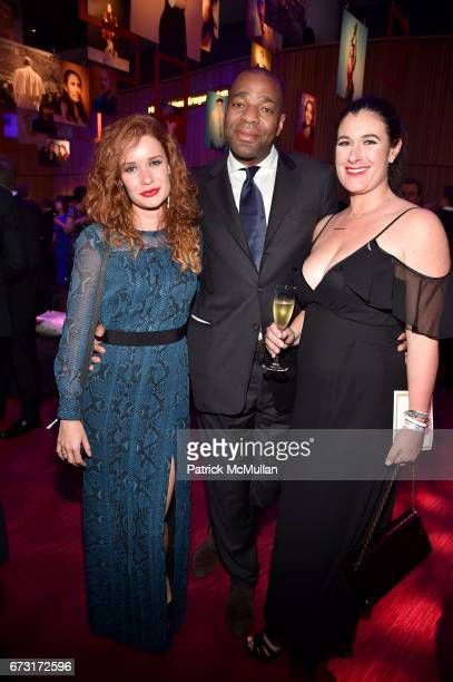 Anya Jonathan Cropper and Candace Cogen attend the 2017 TIME 100 Gala at Jazz at Lincoln Center on April 25 2017 in New York City