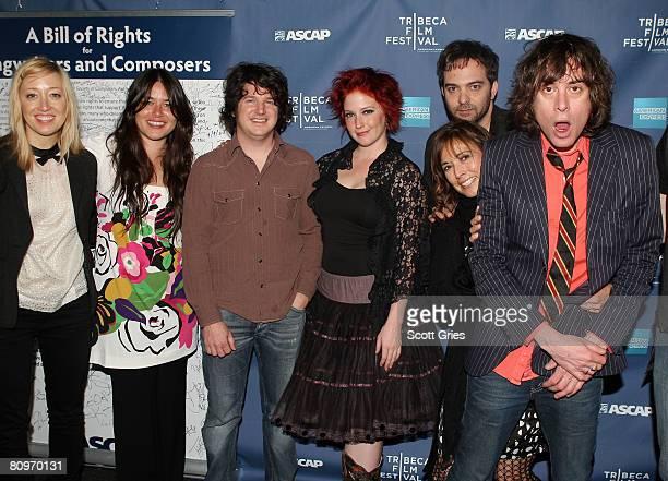 Anya Marina Rachael Yamagata Matt Slocum and Leigh Nash of Sixpence None the Richer Adam Schlesinger of Fountains of Wayne Loretta Munoz of ASCAP and...