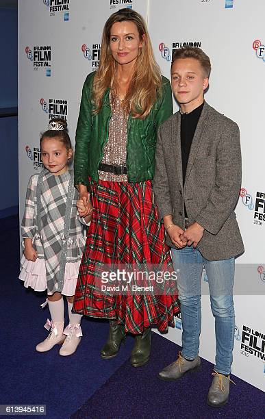 Anya McKennaBruce Natascha McElhone and Daniel Huttlestone attend the 'London Town' screening during the 60th BFI London Film Festival at Haymarket...