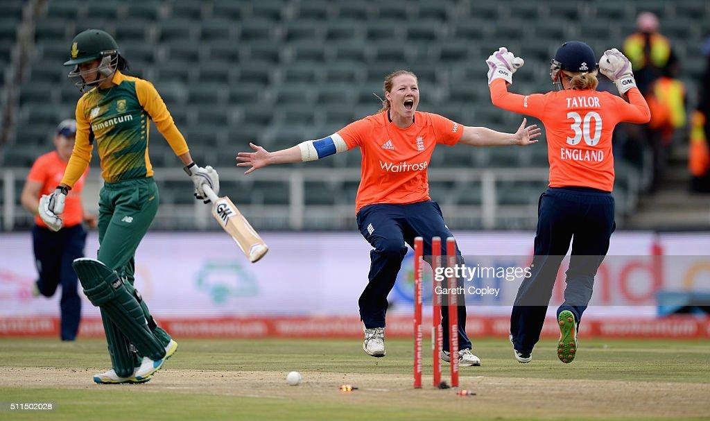 South Africa Women v England Women - 3rd T20 International