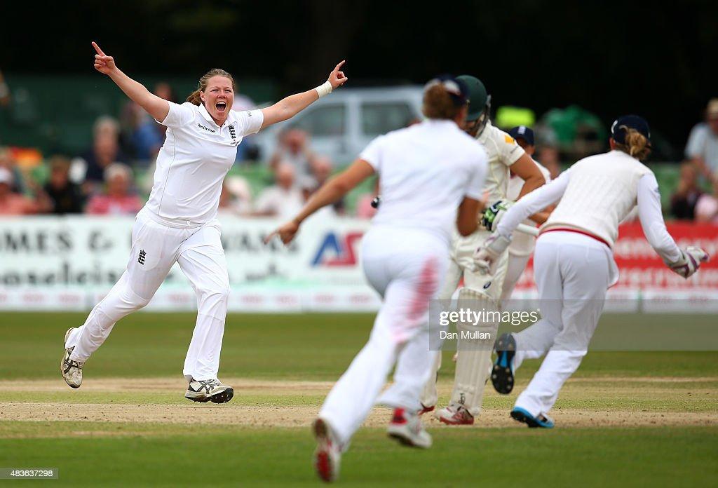 England Women v Australia Women: Women's Ashes Series - Kia Women's Test: Day One