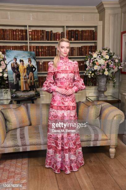Anya TaylorJoy attends a photocall for Emma at The Soho Hotel on February 12 2020 in London England