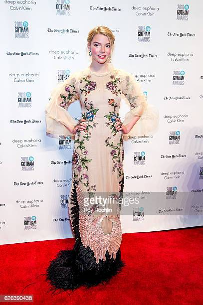 Anya Taylor-Joy attends the 26th Annual Gotham Independent Film Awards at Cipriani Wall Street on November 28, 2016 in New York City.
