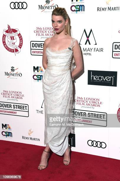 Anya TaylorJoy attends the 39th London Critics' Circle Choice Awards at The May Fair Hotel on January 20 2019 in London England