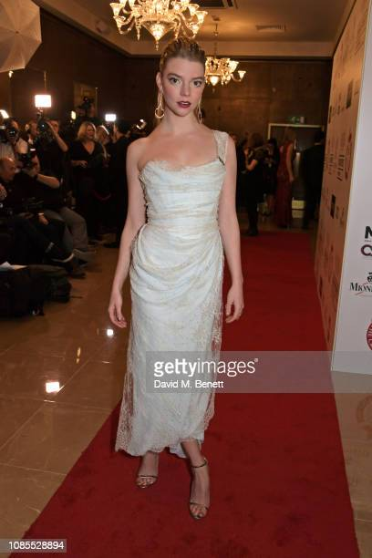 Anya TaylorJoy attends The 39th London Film Critics' Circle Awards at The May Fair Hotel on January 20 2019 in London England