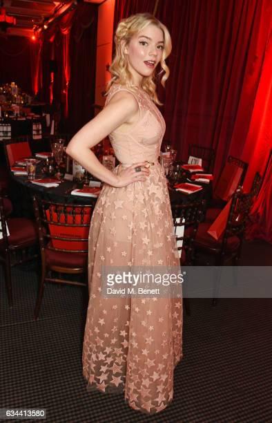 Anya Taylor-Joy attends the BAFTA 2017 Film Gala Dinner at BAFTA Piccadilly on February 9, 2017 in London, England.