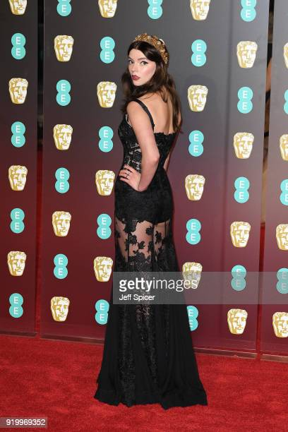 Anya TaylorJoy attends the EE British Academy Film Awards held at Royal Albert Hall on February 18 2018 in London England