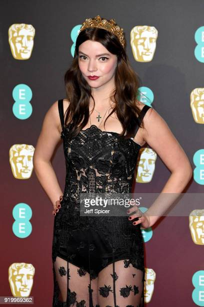 Anya Taylor-Joy attends the EE British Academy Film Awards held at Royal Albert Hall on February 18, 2018 in London, England.