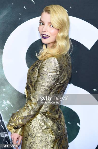"""Anya Taylor-Joy attends the """"Glass"""" New York Premiere at SVA Theater on January 15, 2019 in New York City."""
