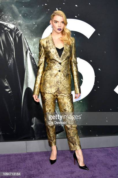 """Anya Taylor-Joy attends the """"Glass"""" NY Premiere at SVA Theater on January 15, 2019 in New York City."""
