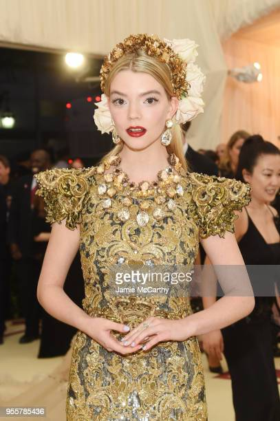 Anya Taylor-Joy attends the Heavenly Bodies: Fashion & The Catholic Imagination Costume Institute Gala at The Metropolitan Museum of Art on May 7,...
