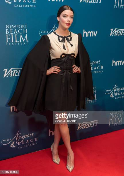 Anya TaylorJoy attends the 'Newport Beach Film Festival' annual UK honours at The Rosewood Hotel on February 15 2018 in London England