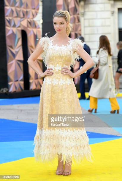 Anya Taylor-Joy attends the Royal Academy of Arts Summer Exhibition Preview Party at Burlington House on June 6, 2018 in London, England.