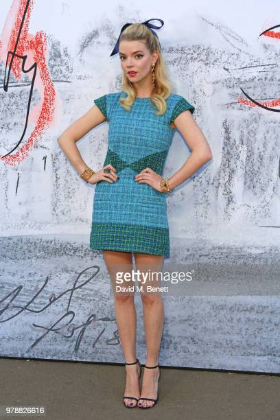 Anya TaylorJoy attends the Serpentine Summper Party 2018 at The Serpentine Gallery on June 19 2018 in London England
