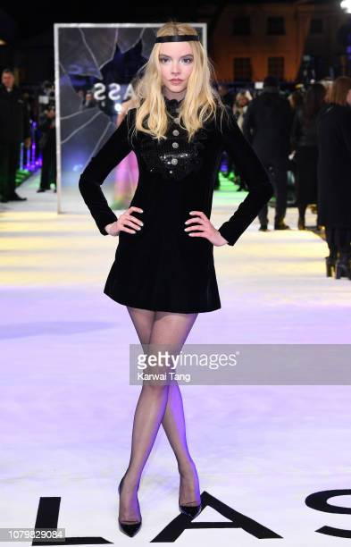 Anya TaylorJoy attends the UK Premiere of Glass at The Curzon Mayfair on January 9 2019 in London England