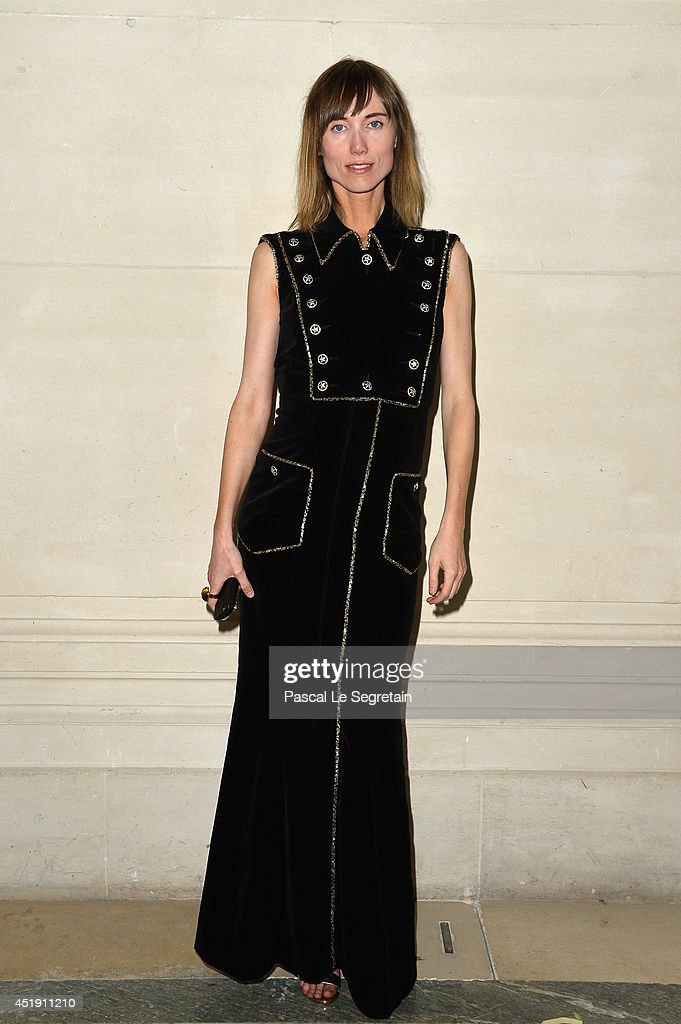 Valentino : Front Row - Paris Fashion Week : Haute Couture Fall/Winter 2014-2015