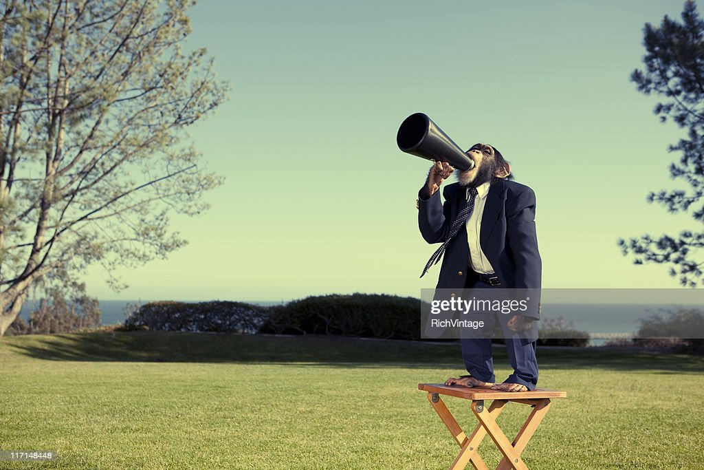 Anybody Out There? : Stockfoto