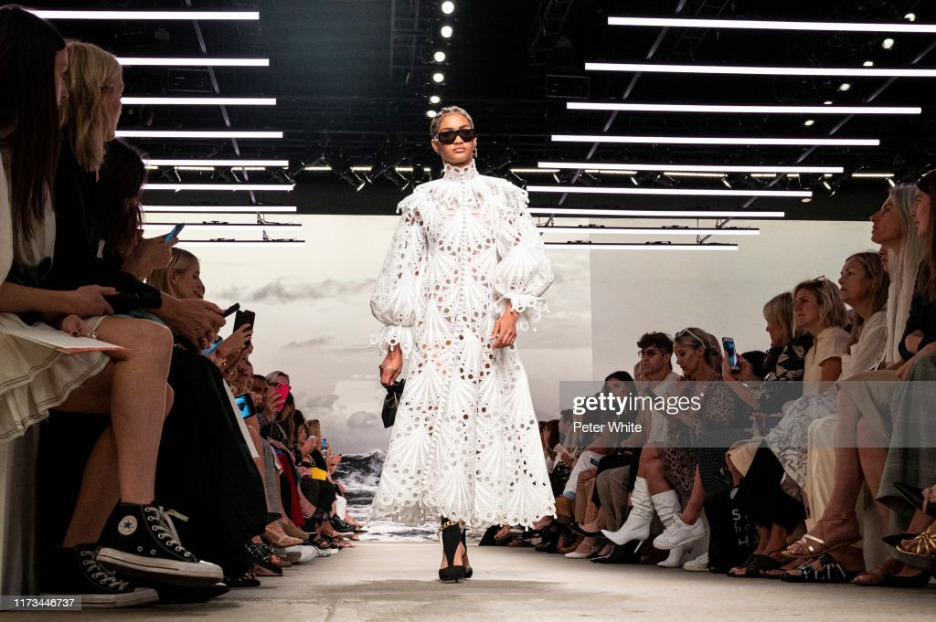 Zimmermann - September 2019 - New York Fashion Week : Photo d'actualité