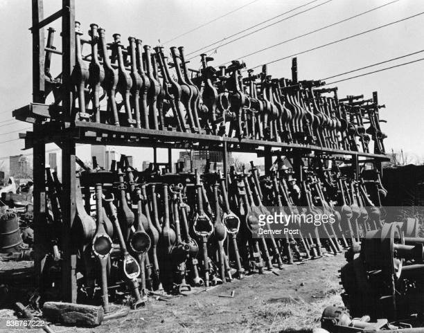 Anyone need a rear Axle Pioneer Wrecking Yard is remark in that is unusually free junk Credit Denver Post