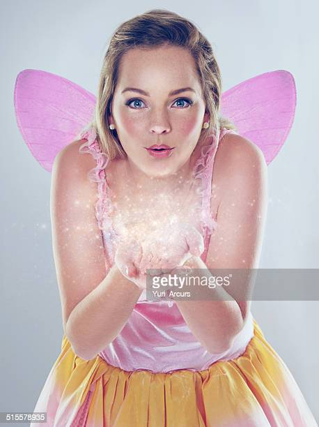 anything is possible! - fairy stock photos and pictures