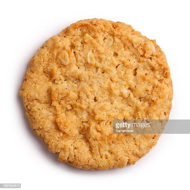 Anzac Biscuit isoliert Clipping Path
