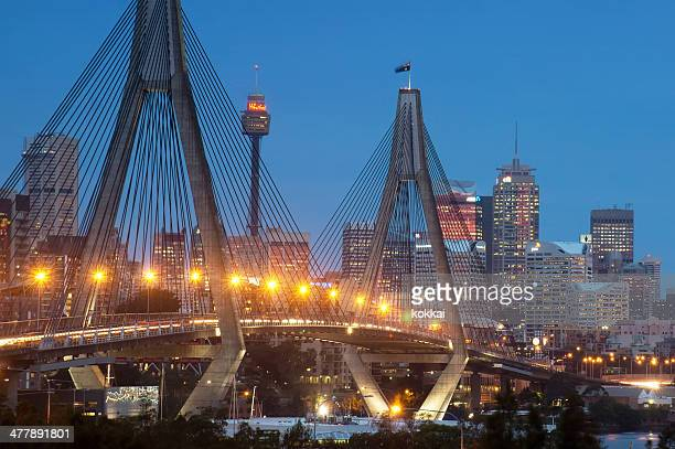 Anzac Bridge (Dusk)
