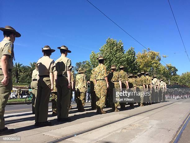 Anzac Day March 2014 Melbourne Australia