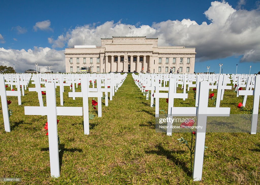 Anzac Day Memorial Auckland War Memorial Museum : Stock Photo
