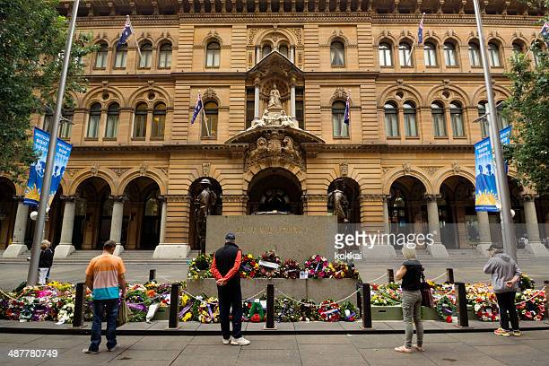 Anzac Day - The Cenotaph at Martin Place