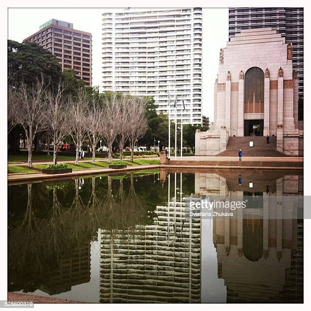 Anzac monument in Hyde Park Sydney