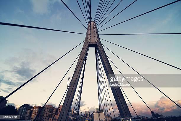Anzac suspension bridge in Sydney