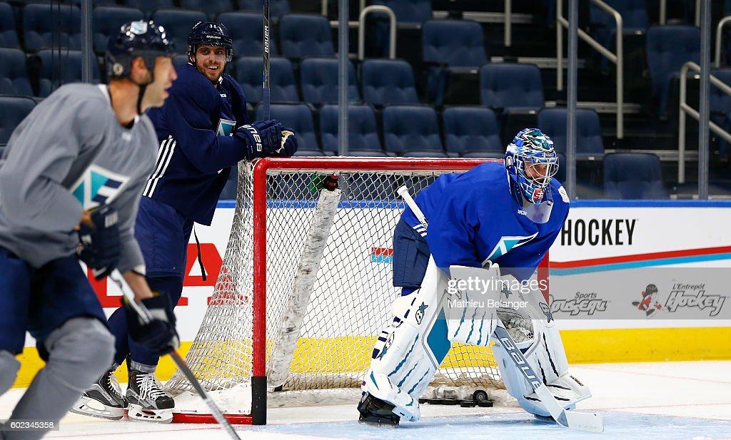 World Cup Of Hockey 2016 - Team Europe - Practice & Press Interviews