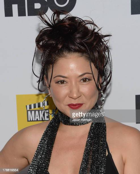 Anzu Lawson attends the Make A Film Foundation's ComedyCon 2013 Fundraiser at The Comedy Store on August 30 2013 in West Hollywood California