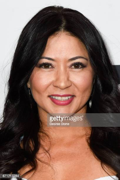 Anzu Lawson attends the Premiere of The Black Ghiandola hosted by Make A Film Foundation at Samuel Goldwyn Theater on April 22 2017 in Beverly Hills...